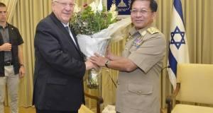 Assassini a braccetto: il Capo di Stato Maggiore dell'Esercito Birmano fa shopping di armamenti in Israele
